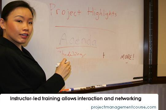 project training instructor